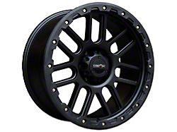 Vision Off-Road 111 Nemesis Matte Black 6-Lug Wheel; 20x9; 12mm Offset (99-06 Silverado 1500)