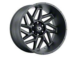 Vision Off-Road 361 Spyder Satin Black 6-Lug Wheel; 20x9; 0mm Offset (99-06 Silverado 1500)