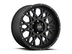 Vision Off-Road 412 Rocker Satin Black 6-Lug Wheel; 20x9; 10mm Offset (99-06 Silverado 1500)