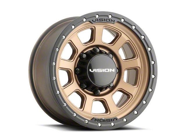 Vision Off-Road 350 Ojos Bronze 6-Lug Wheel; 17x9; -12mm Offset (05-15 Tacoma)