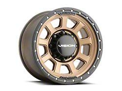 Vision Off-Road 350 Ojos Bronze 6-Lug Wheel; 18x9; 12mm Offset (19-22 Silverado 1500)