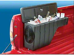 Wheel Well Storage with Marine Grade Speaker (Universal; Some Adaptation May Be Required)