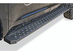 STX600 Running Boards; Black (19-21 Ranger SuperCrew)