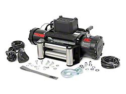 Rough Country PRO Series 12,000 lb. Winch with Steel Cable