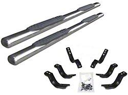 4-Inch 1000 Series Cab Length Side Step Bars; Stainless Steel (19-22 Ranger SuperCrew)