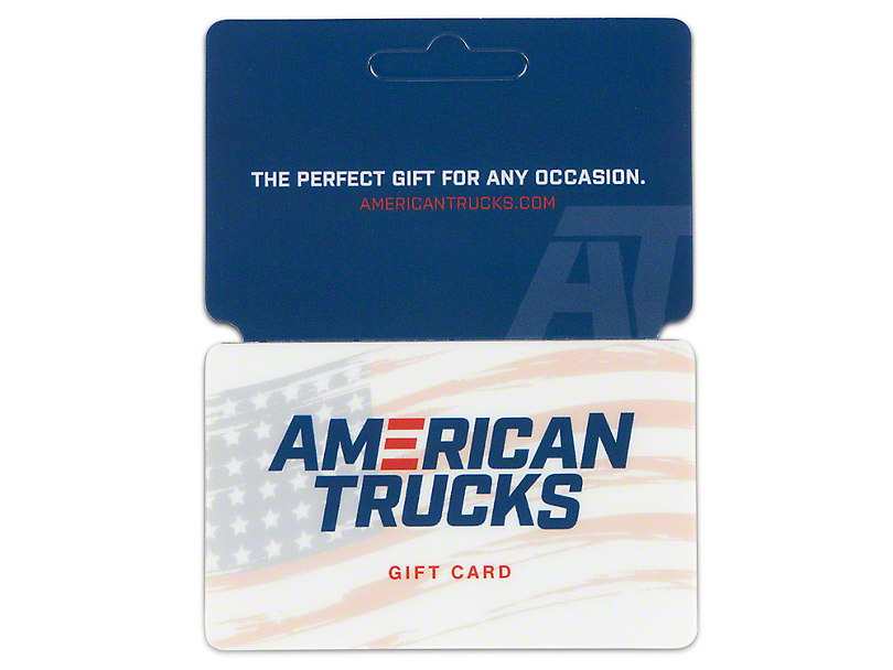 AmericanMuscle F-150 Gift Card / Gift Certificate (E-mailed)