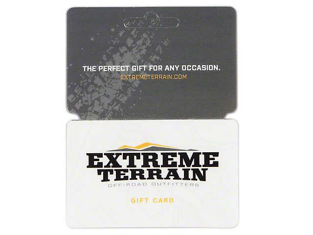 ExtremeTerrain Gift Card / Gift Certificate (Mailed)