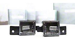 Morimoto XB LED License Plate Lights; Smoked (14-18 Sierra 1500)