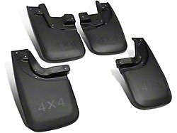 Mud Guards; Front and Rear (14-18 Sierra 1500)