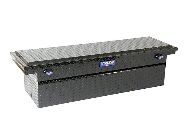 Blue Label Series Single Lid Crossover Tool Box; Gloss Black (Universal; Some Adaptation May Be Required)