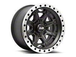 DV8 Offroad 886 Simulated Beadlock Matte Black 6-Lug Wheel; 20x9; 0mm Offset (19-21 Sierra 1500)