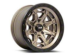 DV8 Offroad 886 Simulated Beadlock Matte Bronze 8-Lug Wheel; 20x12; -44mm Offset (06-08 RAM 1500 Mega Cab)
