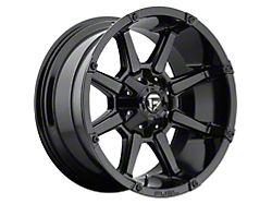 Fuel Wheels Coupler Gloss Black 8-Lug Wheel; 20x10; -12mm Offset (19-21 RAM 2500)