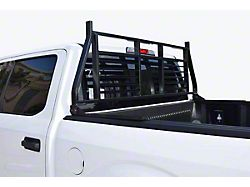 Medium Duty Headache Rack; Black (02-21 RAM 1500 w/o RAM Box)