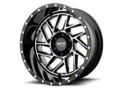 Moto Metal MO985 Breakout Gloss Black Machined 8-Lug Wheel; 20x12; -44mm Offset (06-08 RAM 1500 Mega Cab)