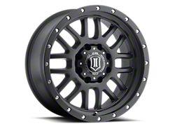 ICON Alloys Alpha Satin Black 8-Lug Wheel; 20x9; 19mm Offset (19-21 RAM 2500)