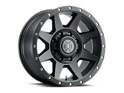ICON Alloys Rebound Satin Black 8-Lug Wheel; 20x9; 12mm Offset (19-21 RAM 2500)