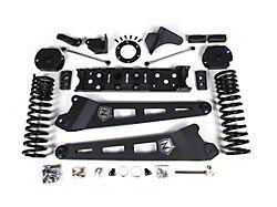 Zone Offroad 4.50-Inch Radius Arm Suspension Lift Kit with Nitro Shocks (19-21 4WD 6.7L RAM 2500 w/o Air Ride)