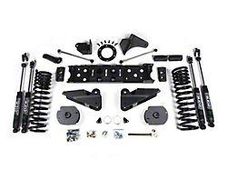 Zone Offroad 4-Inch Radius Arm Suspension Lift Kit with Fox Shocks (19-21 4WD 6.4L RAM 2500 w/o Air Ride)