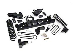 Zone Offroad 4-Inch Radius Arm Suspension Lift Kit with Nitro Shocks (19-21 4WD 6.4L RAM 2500 w/o Air Ride)