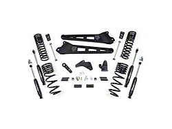 Zone Offroad 6.50-Inch Radius Arm Suspension Lift Kit with Nitro Shocks (14-18 4WD 6.7L RAM 2500 w/o Air Ride, Excluding Power Wagon)