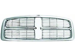 OE Style Upper Replacement Grille; Chrome (03-05 RAM 2500)