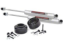 Rough Country 2.50-Inch Leveling Coil Spacers with Premium N3 Shocks (03-13 4WD RAM 2500)
