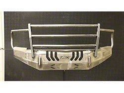 Throttle Down Kustoms Standard Front Bumper with Grille Guard; Bare Metal (19-21 RAM 2500)