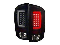 G2 LED Tail Lights; Gloss Black Housing; Smoked Lens (07-09 RAM 2500)