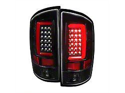 G2 LED Tail Lights; Jet Black Housing; Clear Lens (03-06 RAM 2500)