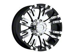 Pro Comp Wheels 01 Series Gloss Black Machined 8-Lug Wheel; 18x9.5; -19mm Offset (03-09 RAM 2500)