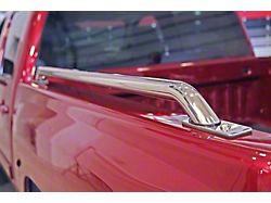 Dee Zee Side Bed Rails; Stainless Steel (99-06 Silverado 1500 w/ 6.50-Foot Standard Box)