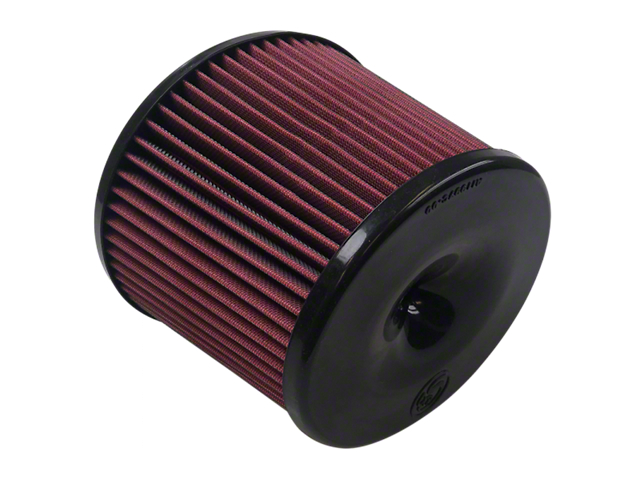 S&B Cold Air Intake Replacement Oiled Cleanable Cotton Air Filter (10-18 4.6L Tundra; 07-21 5.7L Tundra)