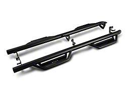 N-Fab Cab Length Podium Nerf Side Step Bars; Textured Black (19-21 RAM 2500 Crew Cab)