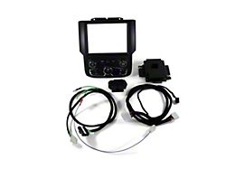 Infotainment Factory 8.4 Radio Bezel Upgrade Kit for 4-Speed Blower Fan Speed (13-17 RAM 1500)