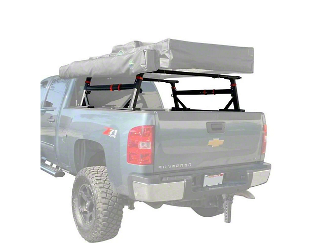 Overland Vehicle Systems Freedom Rack with Cross Bars and Side Supports (Universal Fitment)