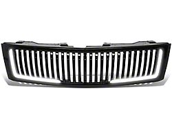 Grille; With LED DRL Light (07-13 Sierra 1500)