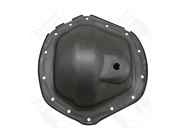 Yukon Gear Differential Cover; Rear; GM 11.50-Inch; Without Fill Plug; Steel (03-10 RAM 2500)