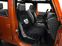 Seat Armour Jeep Grille Seat Cover - Black (87-19 Jeep Wrangler YJ, TJ, JK & JL)