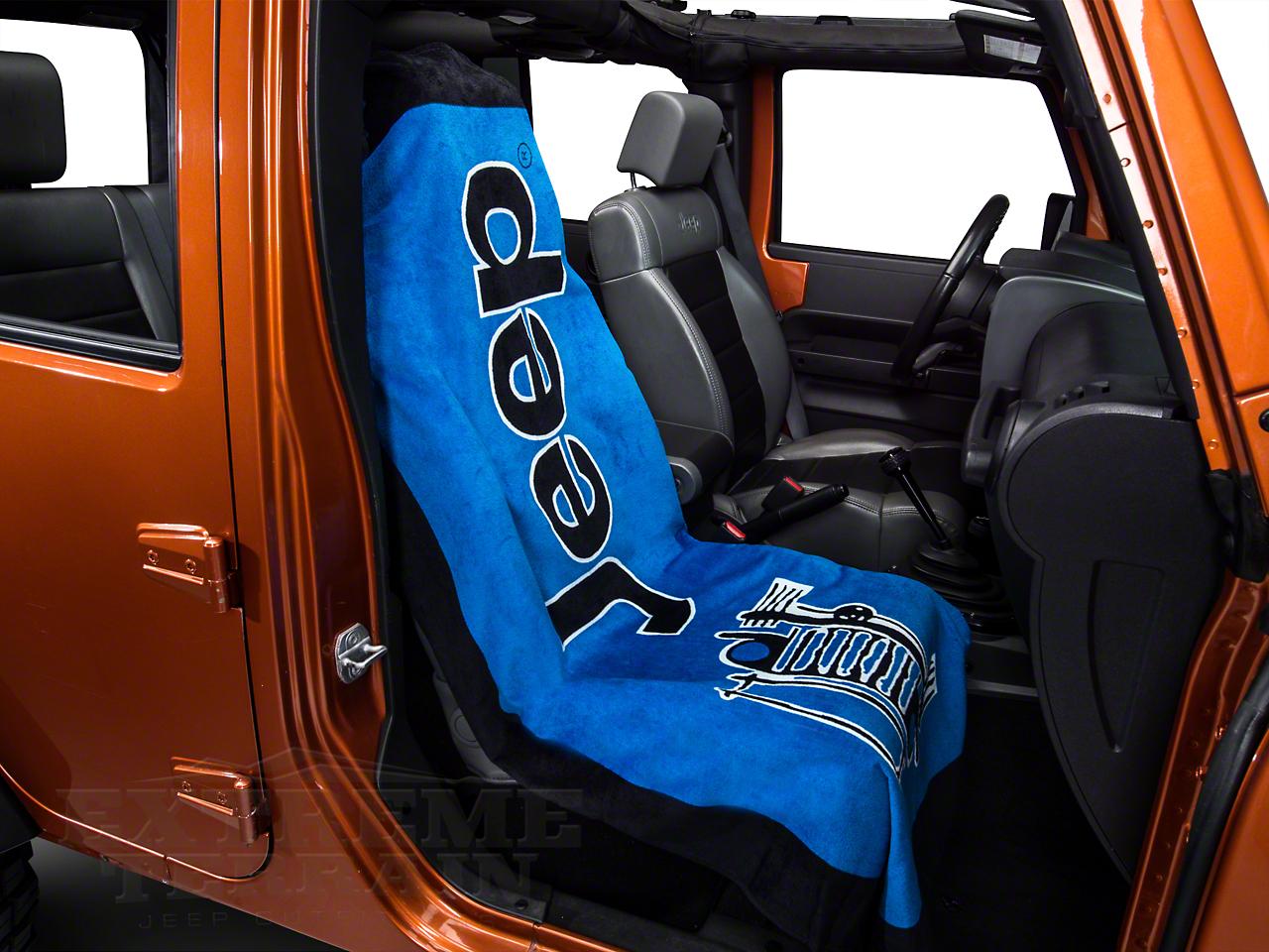 Seat Armour Towel 2 Go - Blue (87-18 Jeep Wrangler YJ, TJ, JK & JL)