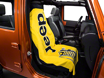 Seat Armour Towel 2 Go - Yellow (87-18 Jeep Wrangler YJ, TJ, JK & JL)