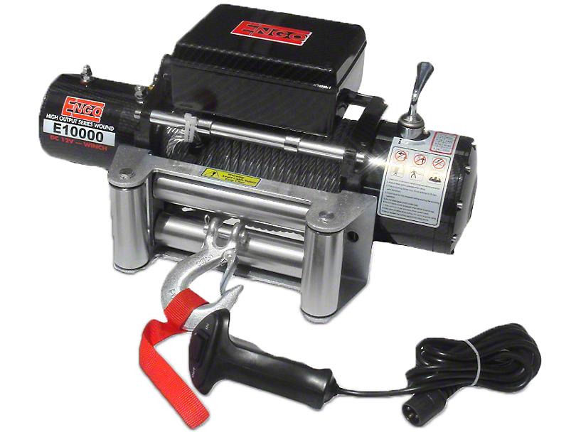 Engo 10,000 lb. 12 Volt Electric Winch