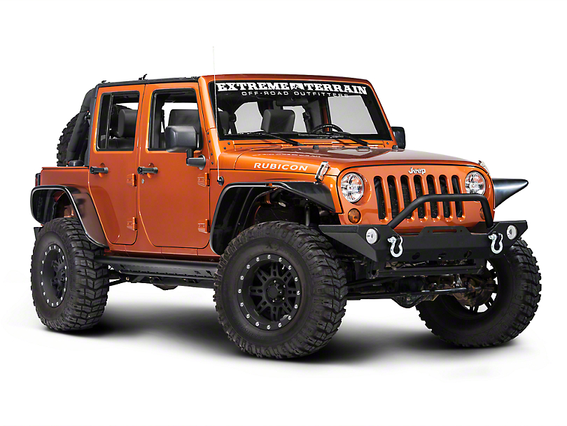 TJM Rock Sliders Bars (07-18 Wrangler JK 4 Door)