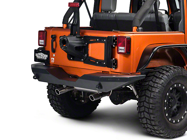 RedRock 4x4 Rear Hinged Tire Carrier (07-18 Jeep Wrangler JK)