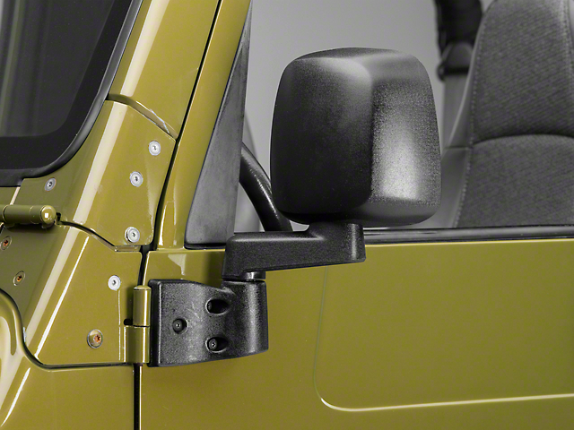 Rough Trail Replacement Mirrors - 03-06 Style (87-06 Wrangler YJ & TJ)