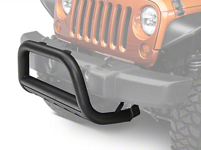 Barricade 3 in. Bull Bar w/ Skid Plate - Textured Black (10-18 Wrangler JK)