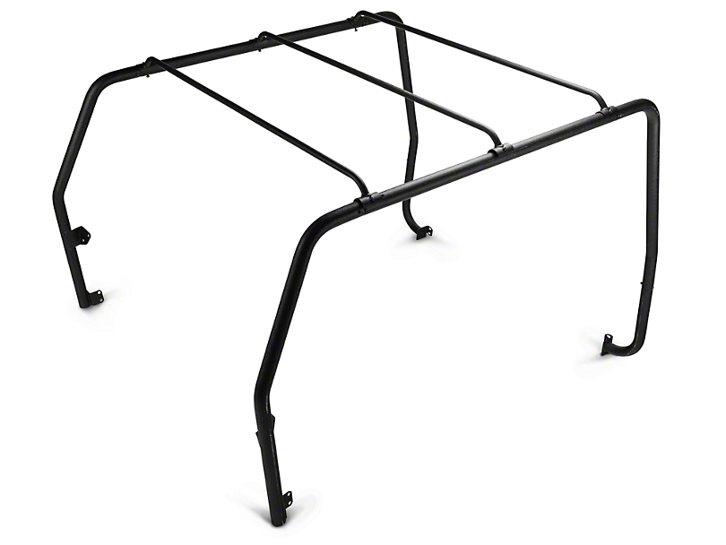 Barricade Roof Rack - Textured Black (87-95 Jeep Wrangler YJ)