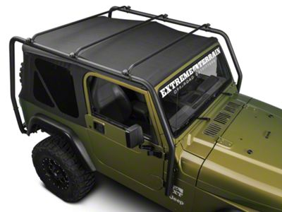Add Barricade Roof Rack - Textured Black (Only Fits 97-06 Wrangler TJ)