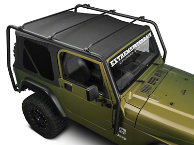 Barricade Roof Rack - Textured Black (97-06 Wrangler TJ)