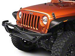 RedRock 4x4 Rock Crawler Front Grille Guard - Textured Black (07-18 Jeep Wrangler JK)